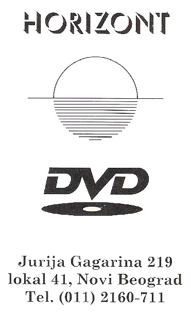 DVD Video Klub Horizont