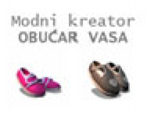 Modni kreator obućar Vasa