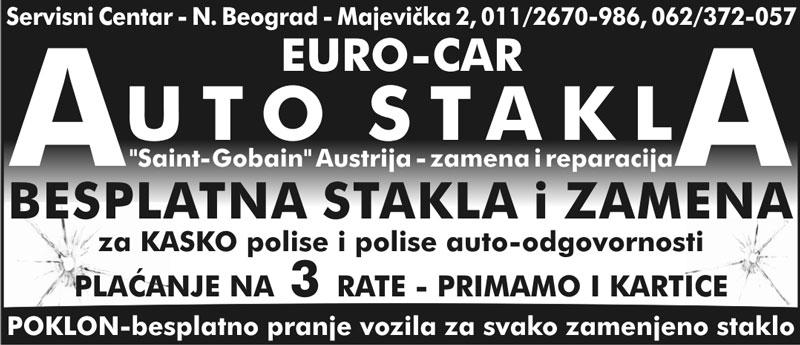 Auto Stakla Beograd – Euro Car