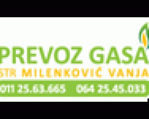 Prevoz i dostava gasa Vanja