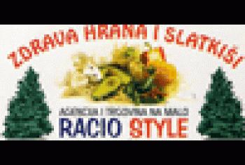 Zdrava hrana i slatkiši Racio Style