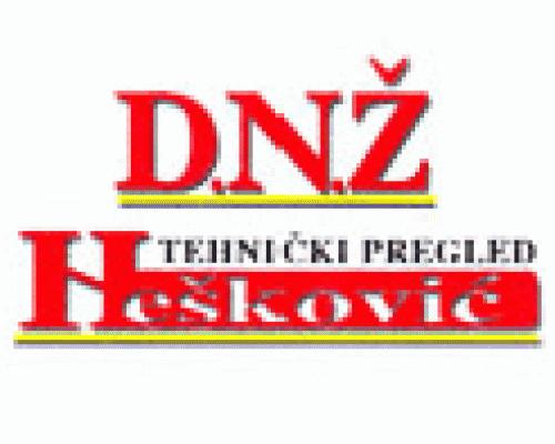 Tehnički pregled vozila DNŽ Nešković