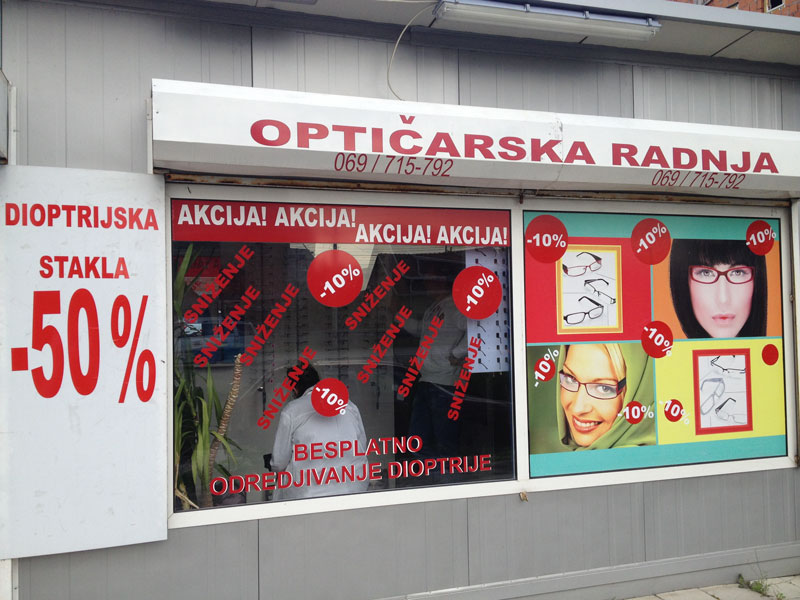 Optičarske radnje Friends & Family