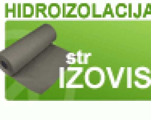 SZR Izovis za hidroizolaciju
