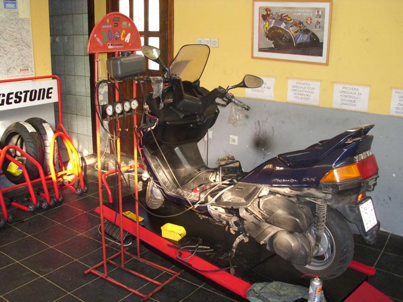 Servis motocikala Profimoto