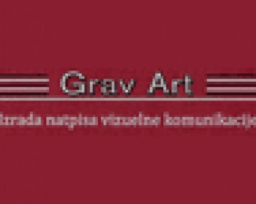 Izrada natpisa vizuelne komunikacije Grav Art