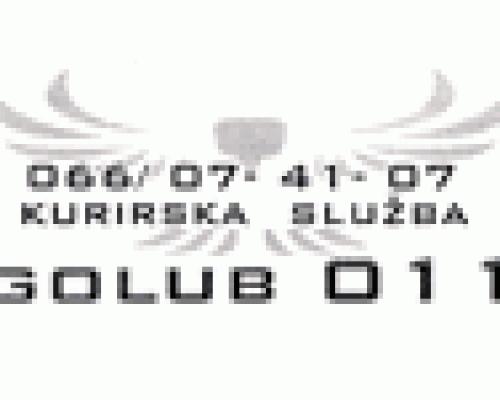 Kurirska služba Golub 011