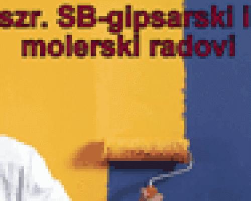 Gipsarski i molerski radovi SB Konjarnik