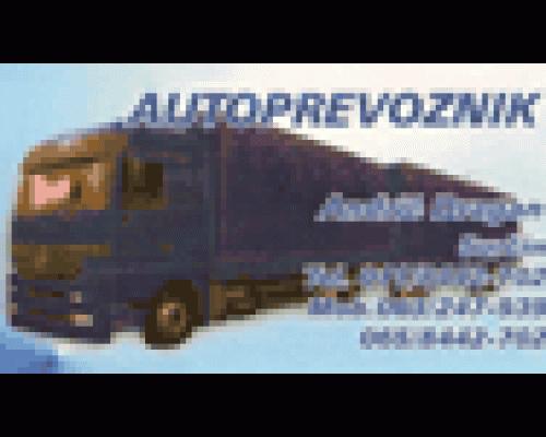 Prevoz robe Milica i Dragan Andrić
