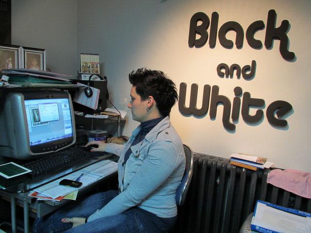 Fotokopirnice Black and White