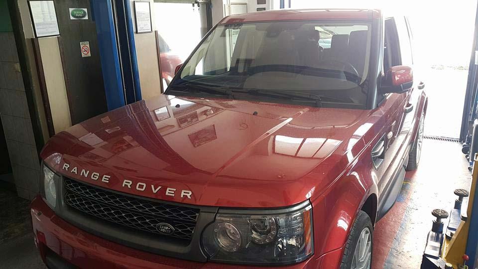 Land Rover Servis Bugi