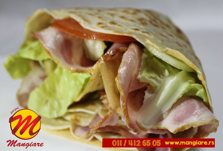 Fast food i kućna dostava hrane Mangiare