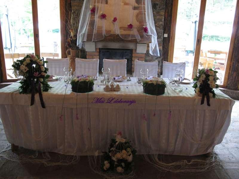 Dekoracija venčanja Miss L