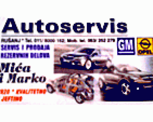 Auto servis Mića i Marko
