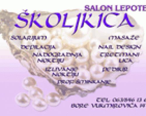 Kozmetički salon Školjkica