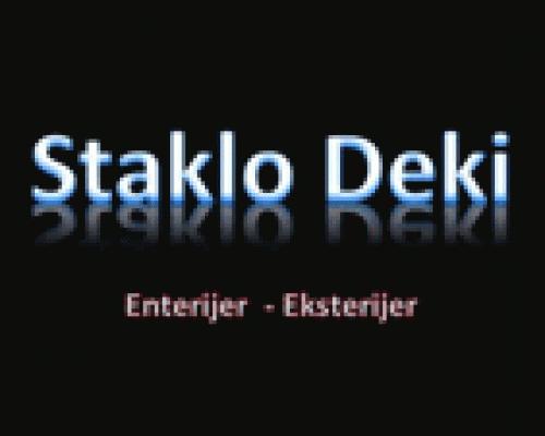 Staklo Deki enterijer – eksterijer