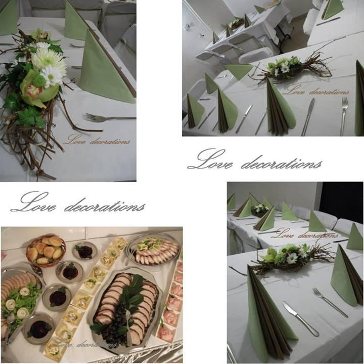 Dekoracija venčanja Love Decorations