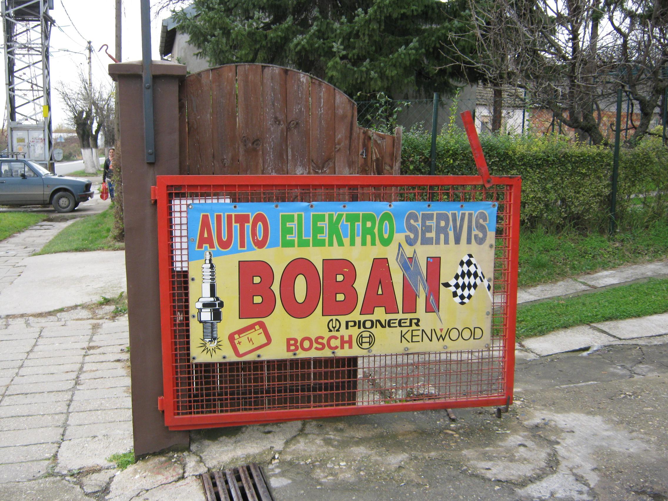 Auto servis Boban