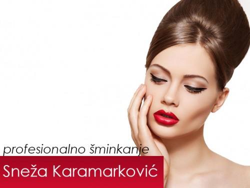 Profesionalno šminkanje Sneža Karamarković