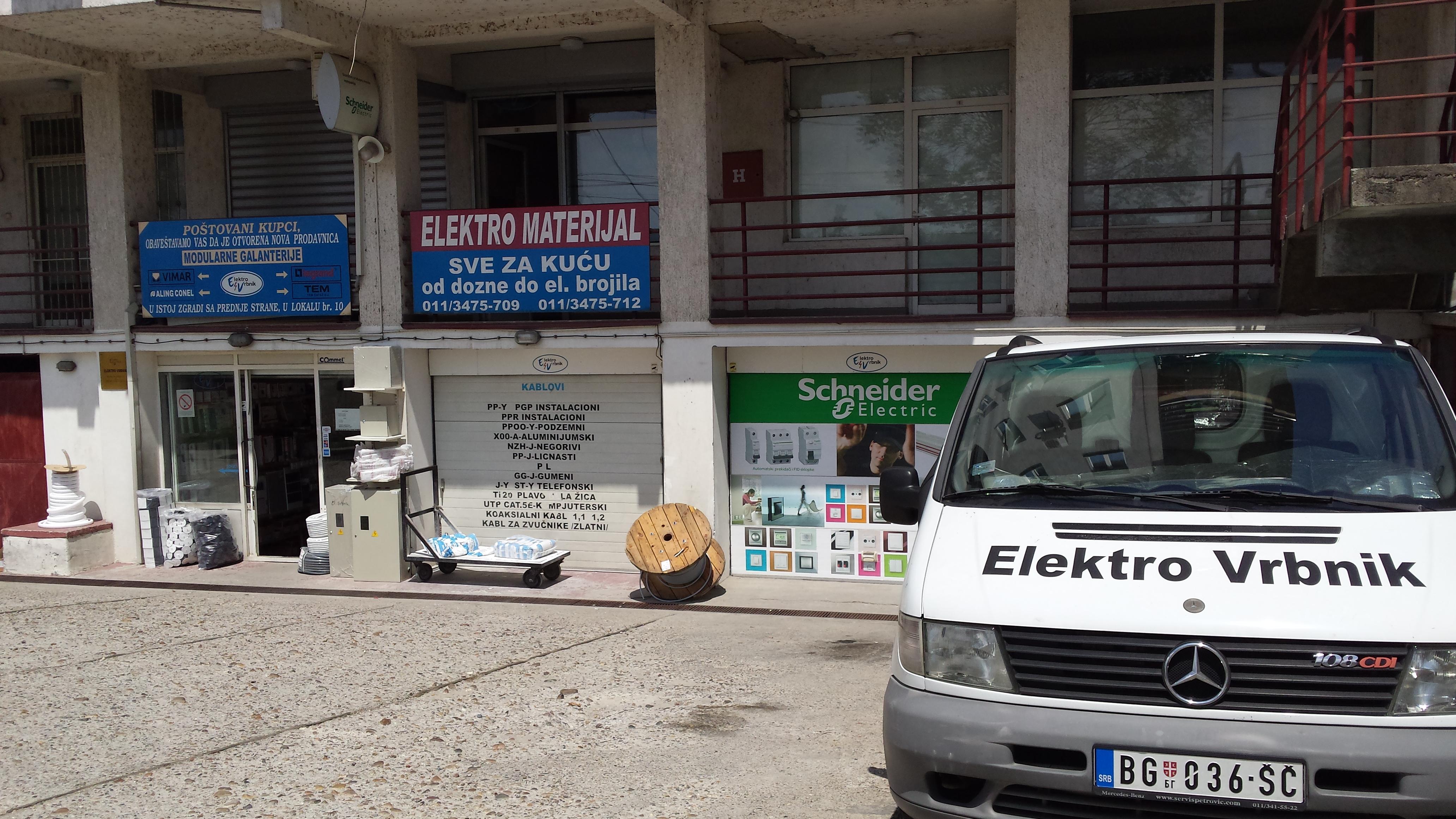 Elektro materijal Elektro Vrbnik