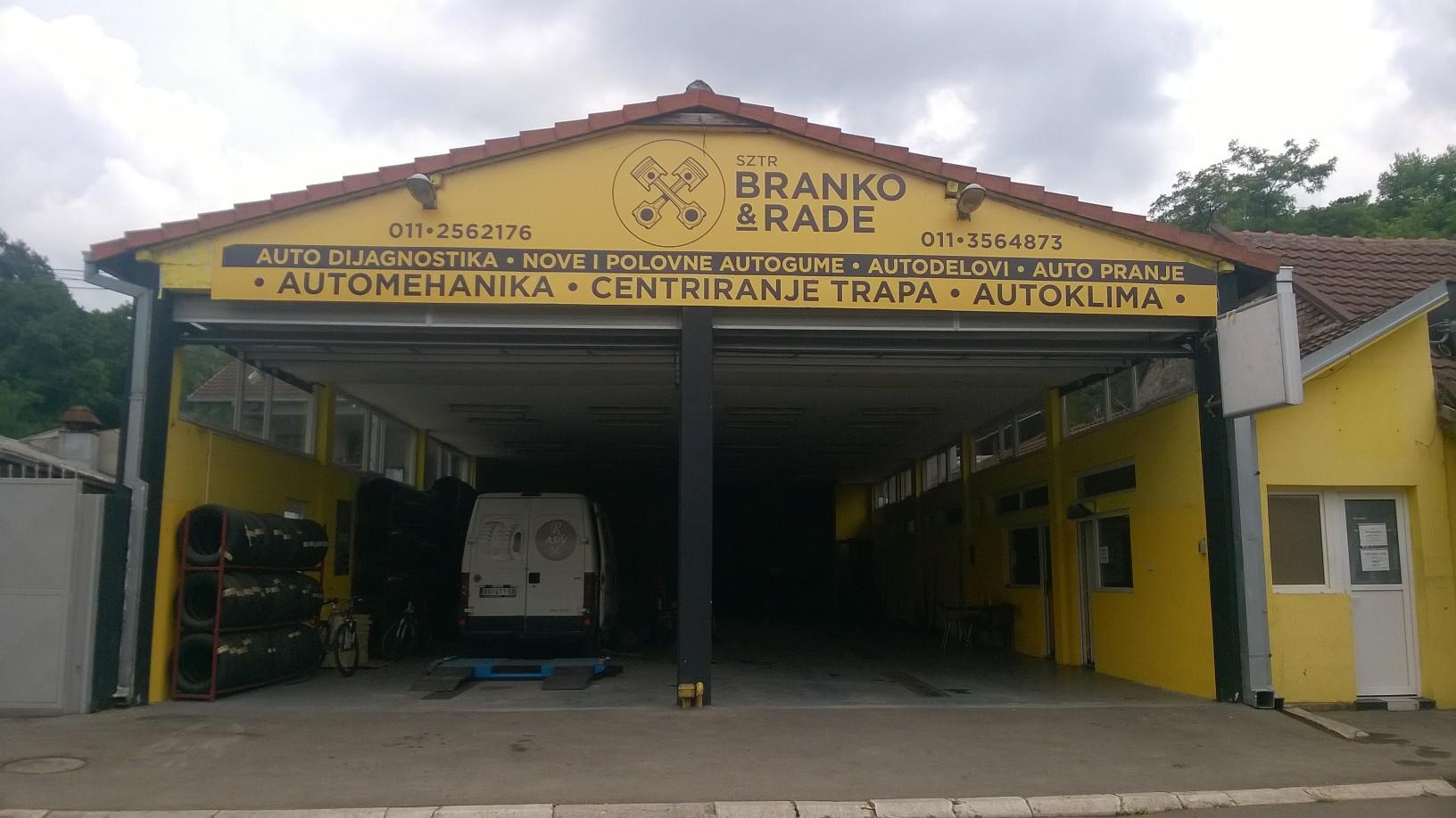 Autoservis Branko & Rade