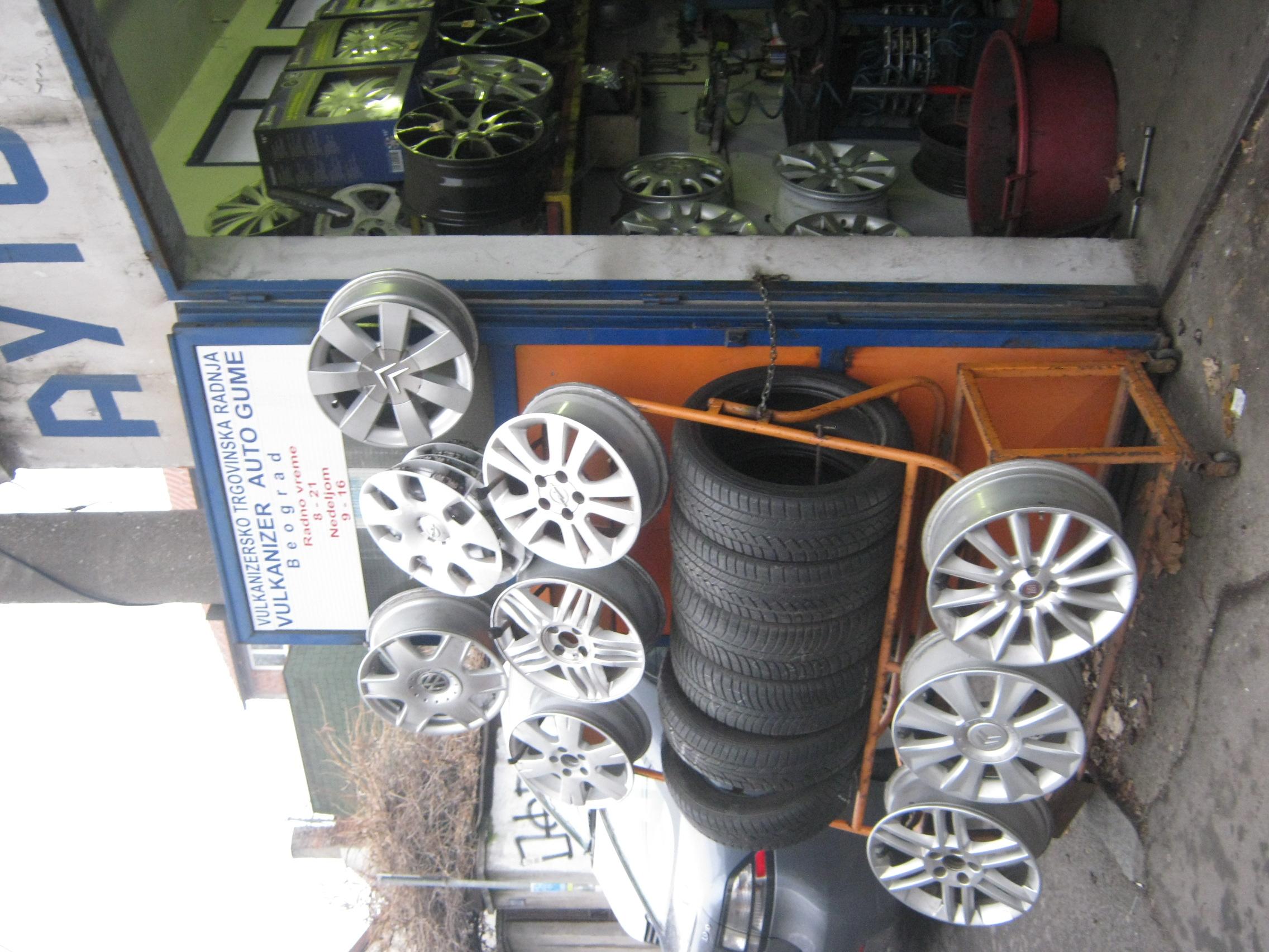 Vulkanizerska radnja Auto Gume