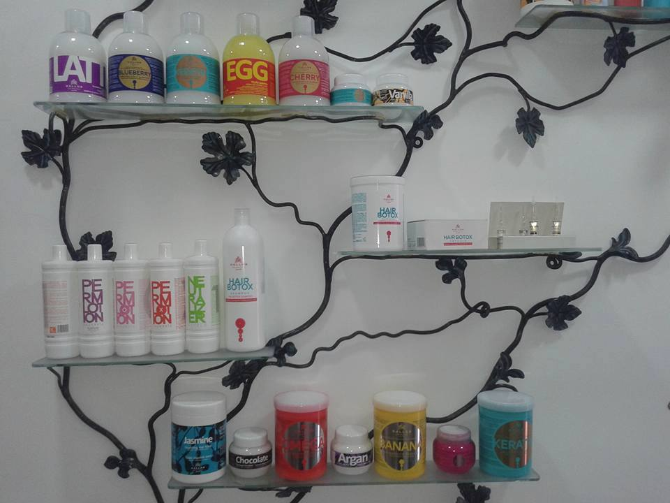 Profesionalni frizerski preparati Una Cosmetics